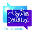 logo de la fédération des centres sociaux de Gironde